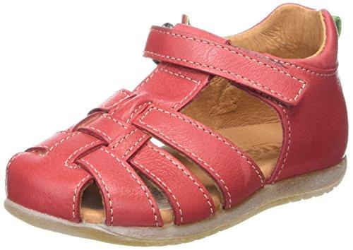 Froddo Unisex Sandal, Unisex Baby Lauflernschuhe, Rot (Red), 19 EU