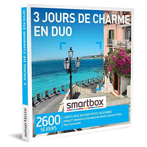 Coffret Smartbox 3 jours de charme en duo