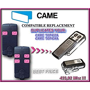 CAME-TOP432-ACame-top434-a-mando-remoto-43392-MHz-Fixed-code-Clone