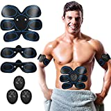 Abs Trainer,Ems Muscle Stimulator,Abdominal Muscle toner Fitness Training Gear ABS Fit Weight Muscle Toning Ab Belts Toning Gym Workout Machine For Men & Women
