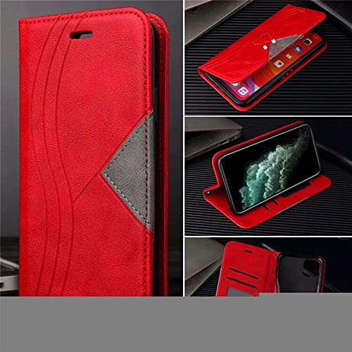 HHF-1 1fortunate Cajas del teléfono para Xiaomi Poco X3 NFC, Funda de Cuero Cubierta de la Billetera para Redmi Note 8T 9 Pro MAX MI 9T 10T Note 10 Ultra