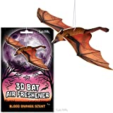 3D Vampire Bat Blood Orange Scented Deluxe Air Freshener!