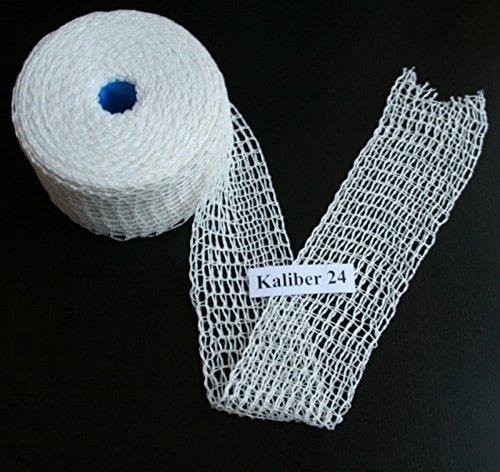 50m Kaliber 24 Bratennetz/Rollbratennetz/Räuchernetz für Einfüllrohr mit einem Durchmesser von ca. 190-200 mm