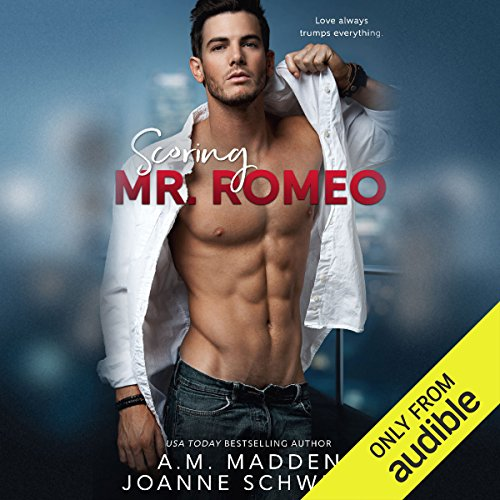 Scoring Mr. Romeo audiobook cover art