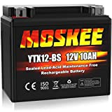 Moskee YTX12-BS Motorcycle Battery High Performance -...