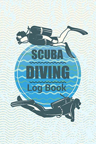 Scuba Diving Log Book: Awesome Cute Simple Clear & Easy Pocket Size Swim Scuba Divers Diving Track & Record Logbook for Beginner, Intermediate and ... Book. Perfect Gifts For Birthday Christmas.