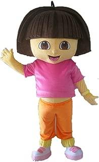 Aris Dora Mascot Costume for Birthday Party Cartoon Made Mascot Costumes