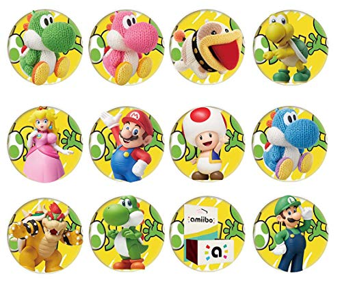 SIYI shop amiibo cards NFC Game Cards Yoshi's Crafted World Nintendo Switch 12pcs with Cards Holder