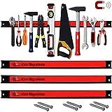 Set de 3 barres magnétiques pour outils 45cm 23kg charge - Garage outils atelier