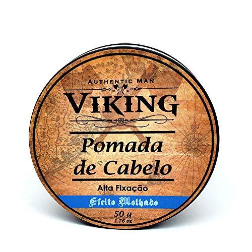 Pomada de Cabelo Efeito Molhado Viking - 50g