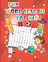 Fun word search for kids: Fun word search puzzle : word search for kids ages 6-8 improve vocabulary