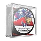 Sher-Wood Alex Ovechkin Washington Capitals Star Player NHL Puck -