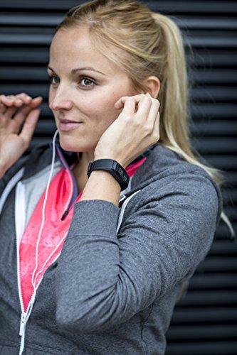 Garmin vívosmart HR Fitness-Tracker – integrierte Herzfrequenzmessung am Handgelenk, Smart Notifications, Schwarz, M – L (13,7-18,8 cm) - 12