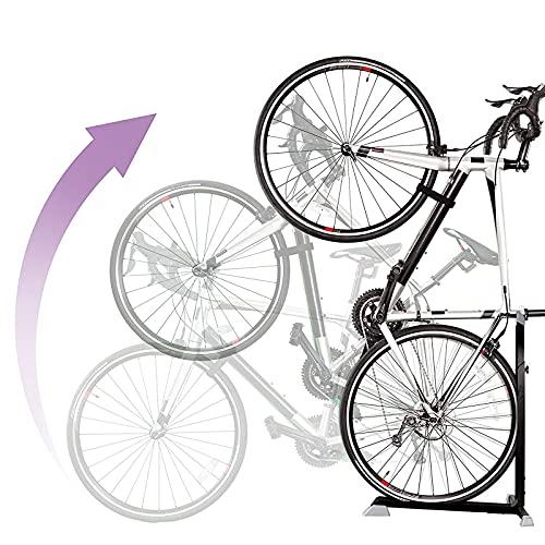 HBOY Soporte Universal para Bicicleta, Soporte estacionario portátil para Ahorrar Espacio, Soporte Plegable Ajustable para Bicicleta, Soporte de Almacenamiento, Soporte de reparación de Bicicletas
