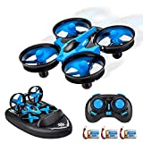 3 in 1 Mini RC Drone,Remote Control Boats,RC Car Sea-Land-Air Mode Switchable Waterproof