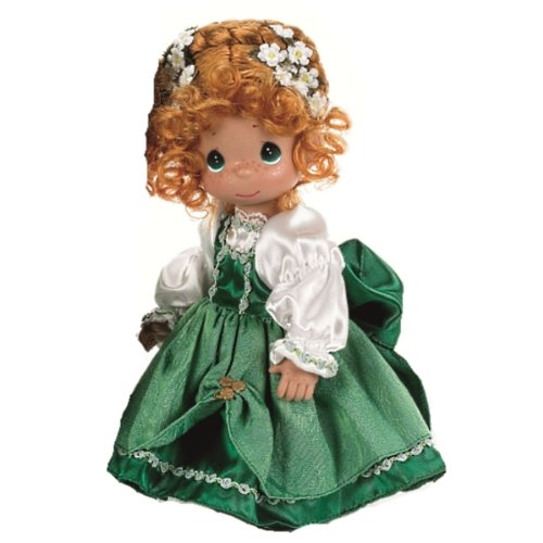Precious Moments Dolls by The Doll Maker, Linda Rick, Ireland Children of The World, Kylie, 9 inch Doll