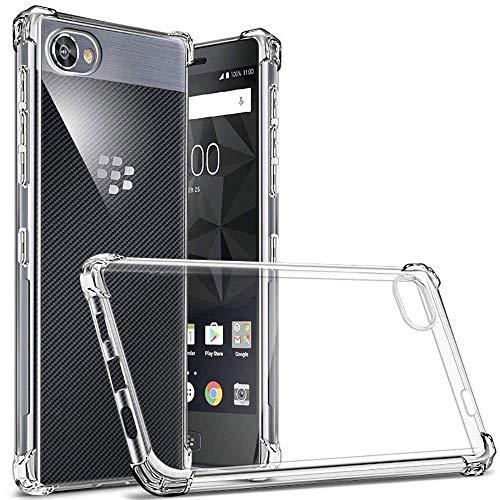 (ミーモール)Miimall BlackBerry KEY2 ケース 保護ケース シリカゲル エアークッション 耐衝撃 ソフト カバー for BlackBerry KEY2
