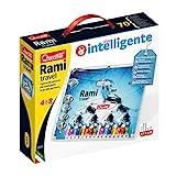 Quercetti- Mini Rami Travel Gioco con Palline Colorate, Multicolore, 1009