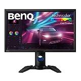 BenQ PV270 9H.LEJLB.QBE 68,58 cm (27 Zoll) Monitor (LED, WQHD, 2560 X 1440 Pixel, REC. 709, Adobe RGB, 14bit 3D LUT, IPS-Technologie) schwarz
