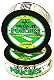 Mint Snuff POUCHES - Original Mint Flavor - 6 cans by Oregon Mint Snuff Company
