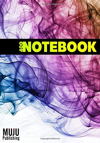 400 Notebook: 400 Pages A5 Lined Paper Notebook with Numbered Pages Cream Paper