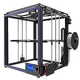 Imprimante 3D Prusa i3 3D Printer, Taille d'impression 330 * 330 * 400mm, DIY Auto-Assemblage Ensemble d'imprimante 3D en Carré en Aluminium Complet Support ABS/PLA / Hip/PP / Filament de Bois