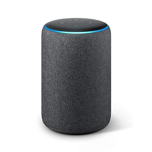 Echo Plus (2da generación) – Sonido de alta calidad y hub de Casa Inteligente integrado, negro