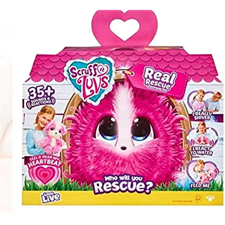 Little Live Scruff-A-Luvs Real Rescue Electronic Pet リトルライブスクラッフアラヴズリアルレスキュ エレクトロニックペット [並行輸入品]