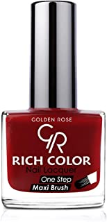 Golden Rich Color Nail Polish 122
