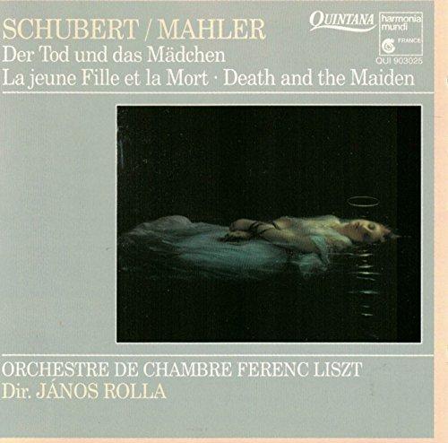 SCHUBERT / MAHLER - DER TOD UND DAS MÄDCHEN - LA JEUNE FILLE ET LA MORT.