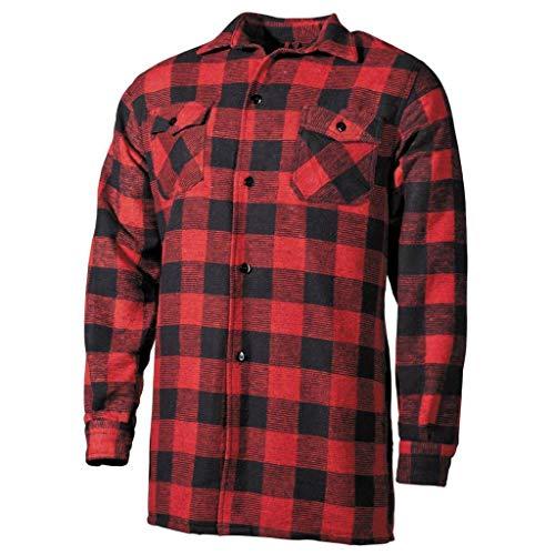 Chemise de Bûcheron canadien, Rouge/noir, XXXL