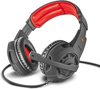 Trust Cascos Gaming GXT 310 Radius Auriculares Gamer con Micrófono y Diadema Ajustables, Cable de 1 m, para PS4, PS5, PC, Nintendo Switch, Xbox One, Xbox Series X - Negro