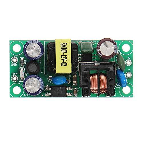Guolongbaihuo Modulo relè Interruttore di precisione Power Module Buck modulo CA alla DC Step Down Converter Module 10pcs DC 9V 600mA, Durevole