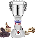 Moongiantgo Electric Grain Grinder Mill Herb Spice Grinder 150g Stainless Steel High-speed Dried