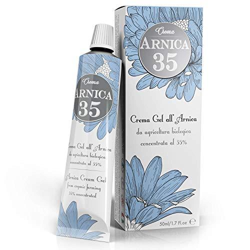 Dulàc - Arnika Gel Creme 35% konzentriert - 50 ml - AM MEISTEN KONZENTRIERT - 100% Made in Italy - Arnica 35