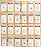 The Spice House: Essential Spices Collection - 24 Count - ½ Cup Each - Sealed BPA-Free Bags - Most Popular Kitchen Seasonings - Herbs, Spices & Seasonings - Perfect Gift for Any Cook - Freshly Made