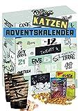 Katzen Adventskalender 2021 I Adventskalender für Katzen mit 24 delikaten Snacks I Geschenkset mit ausgefallenen Kabbereien für Ihre Katze zum Verschenken I Katzenkalender I...