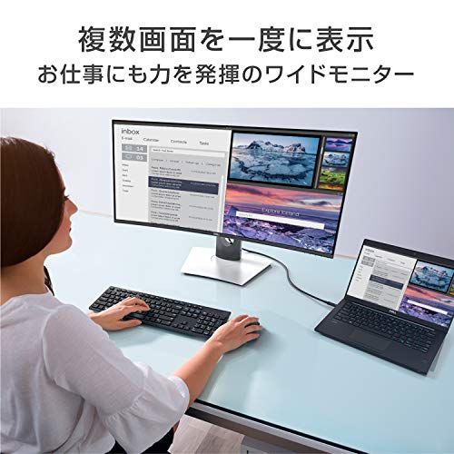 51 yFmgxg0L-DELLのウルトラワイドモニタ「U3419W」を購入したのでレビュー!USB-C接続対応の曲面ディスプレイ