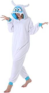 dressfan Animal Snow Monster Onesie Monster Costume Monster Pajamas Cosplay Costume