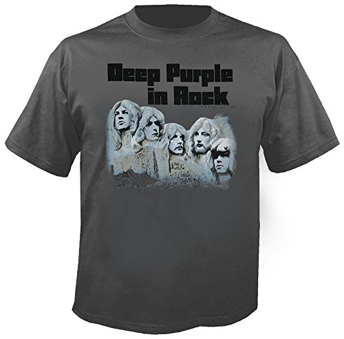 Deep Purple - In Rock - Grey - T-Shirt Größe XL