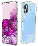Temdan for Samsung Galaxy S20 Plus Case, Anti-Scratch Clear Case with Hard PC Shield+Soft TPU Bumper Designed for Samsung Galaxy S20 Plus 5G 6.7 inch 2020 -Crystal Clear