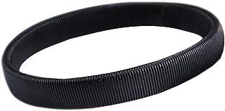 Ruikey Simple Spring Bracelet Bartender Brazalete de puño Antideslizante(Negro)