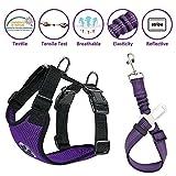 Best Dog Car Harnesses - Lukovee Dog Safety Vest Harness with Seatbelt, Dog Review