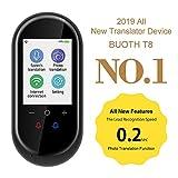 Elektronischer Sprachübersetzergerät mit 2,4-Zoll-Touchscreen für Bidirektionale Übersetzungen ,106 Sprachen Synchronisierte Foto-Übersetzung für Menschen geeignet, um Fremdsprachen zu lernen