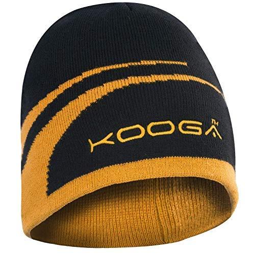 Kooga Essentials Berretto, Ragazzi, Essentials, Nero/Oro