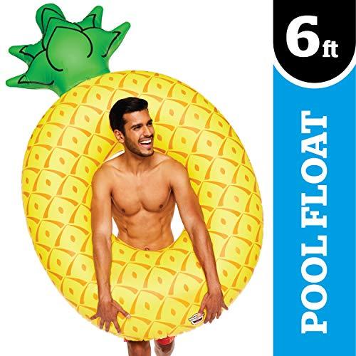 BigMouth Inc. Ananas géant Gonflable, Flotteur pour Piscine, Plage