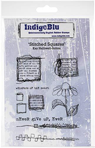 IndigoBlu IND0495 Stempel, mit Stickerei, 12,7 x 20,3 cm