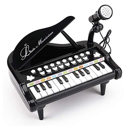 AAFF 1Set Säuglingsspiel Educational Elektronisches Klavier, Spielzeug Keyboard Junge Mädchen Finger Kinder Schlüssel Geschenk Jungen Mädchen Kleinkinder Spielzeug,D