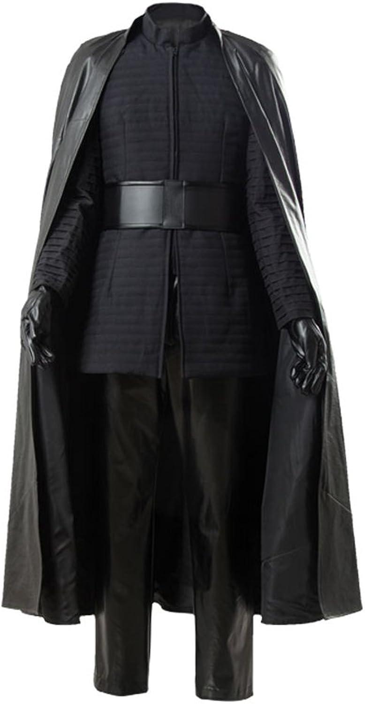 Star Wars 8 The Last Jedi Kylo Ren Outfit Ver.2 Cosplay Kostüm Maanfertigung