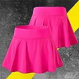 Hoverwin - Falda de tenis para mujer, minifalda, secado ráp